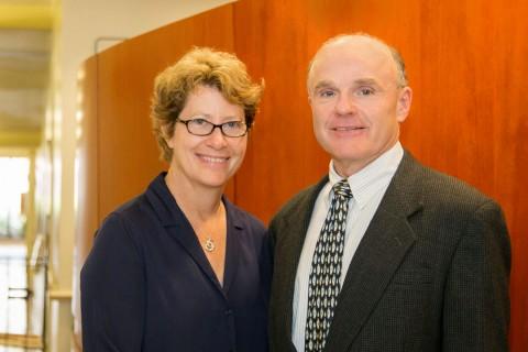 Michele Kipke and Tom Buchanan