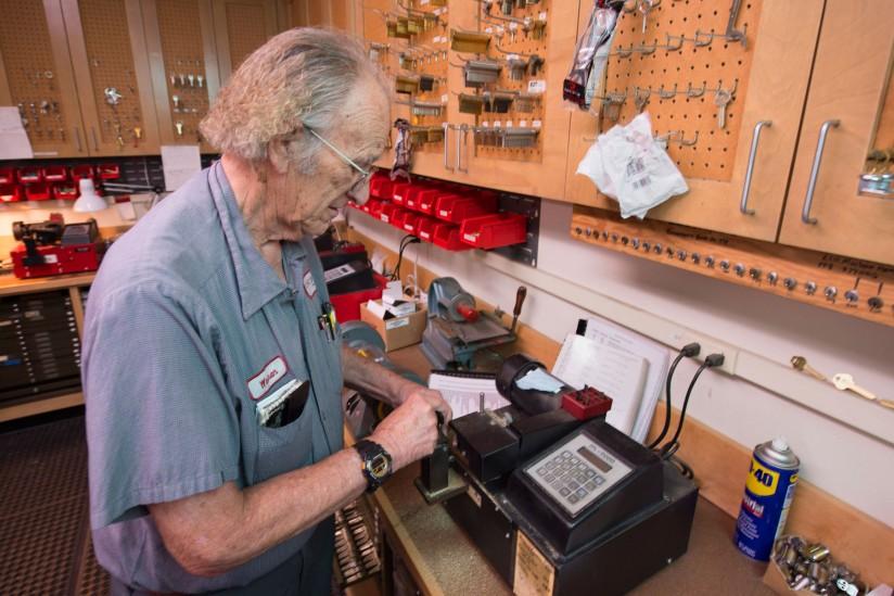 The locksmith who holds the keys to USC's kingdom - USC News