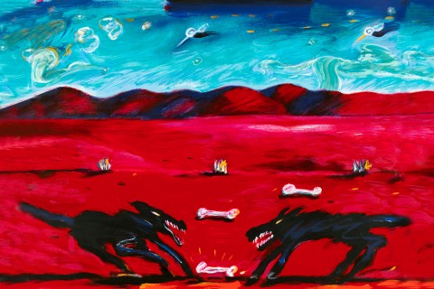 Greed by Carlos Almaraz