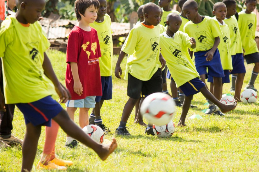 youth and soccer in Uganda