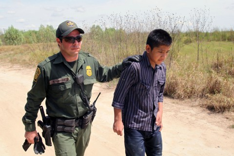 border patrol and minor