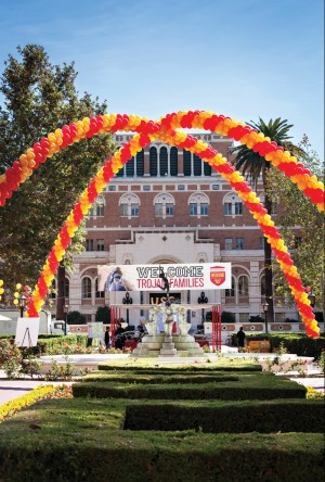 Photo from Trojan Family Weekend