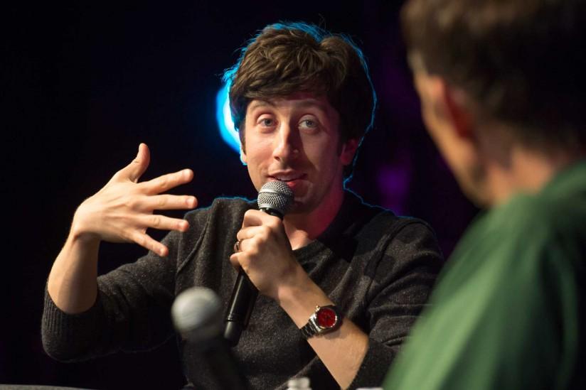 Simon Helberg of The B... Al Pacino Impression