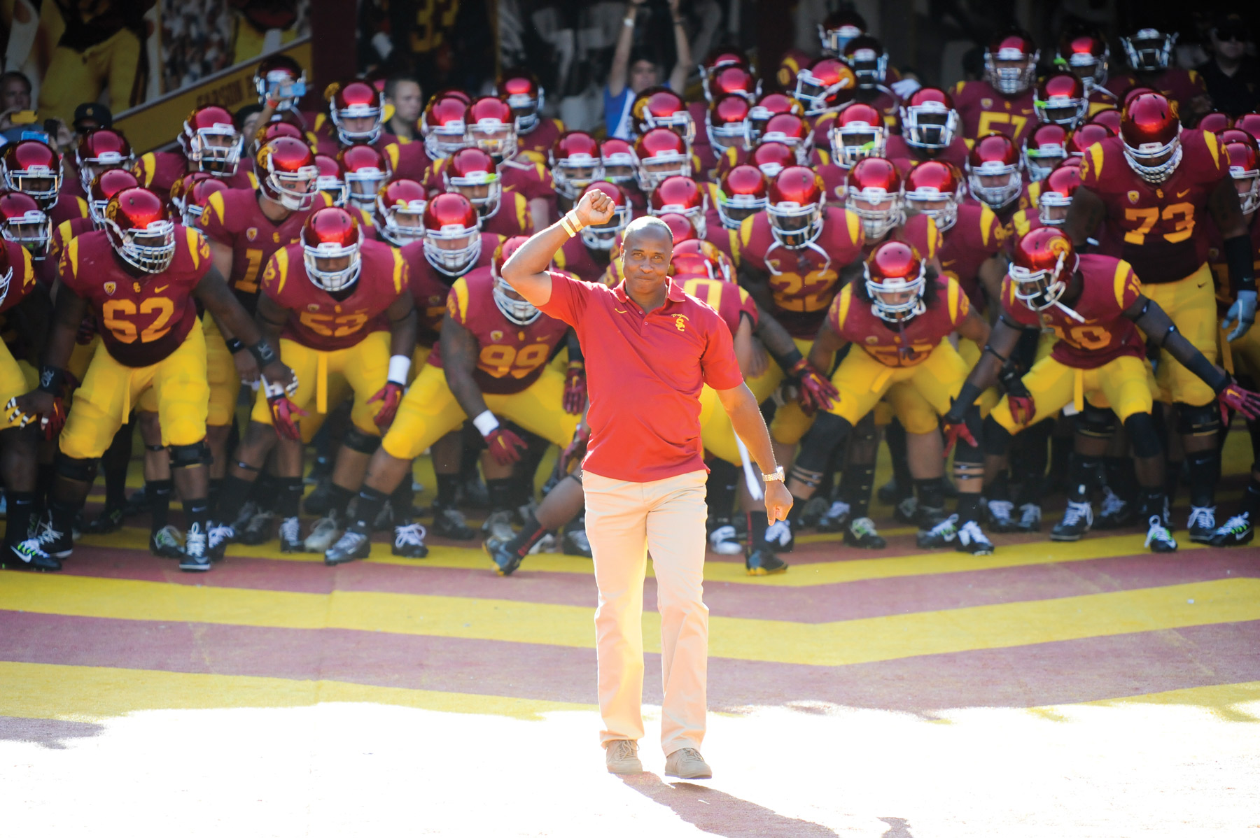 sneakers for cheap 18aad 509b1 Lynn Swann Takes on His Next Breakout Role: USC Athletic ...