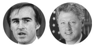 Jerry Brown versus Bill Clinton