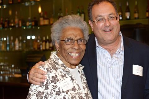 June Brown and Ron Avi Astor
