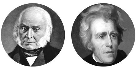 John Quincy Adams versus Andrew Jackson