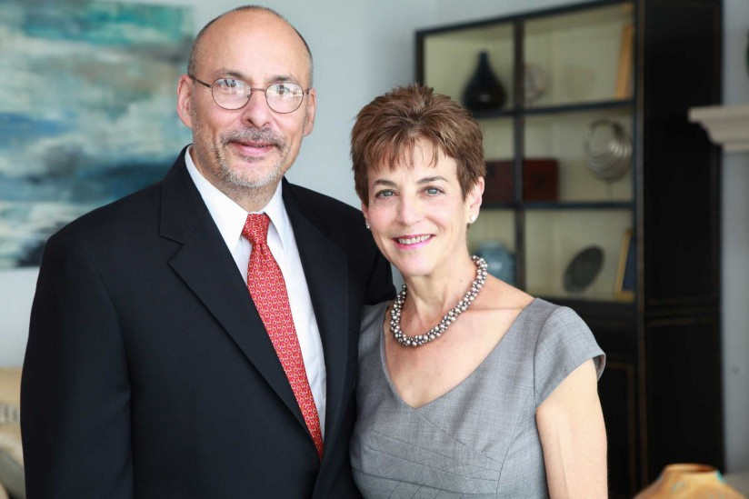 Richard Rasiej and Joan Herman