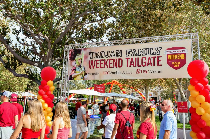 Tailgating at USC