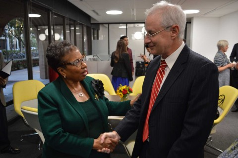 Cheryl Brown and Pinchas Cohen