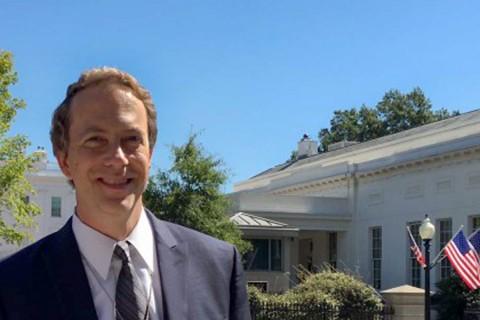 Gary Painter at White House