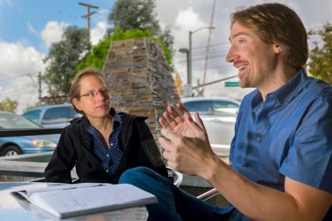 Shirley Pepke and Greg Ver Steeg