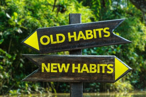 Signs that point to old habits and new habits
