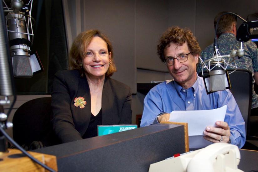 Gail Eichenthal and Robert Cutietta