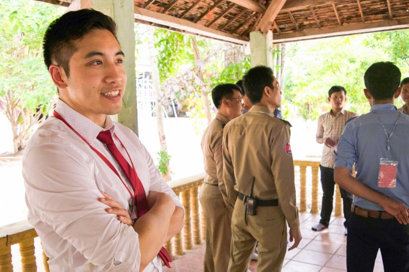 Michael Pham in Cambodia