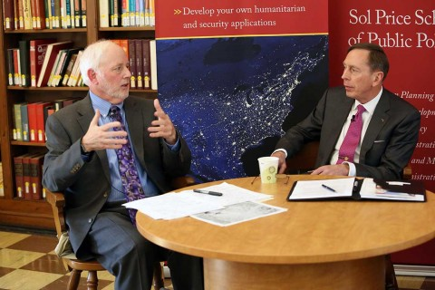 Steven Lamy and David Petraeus