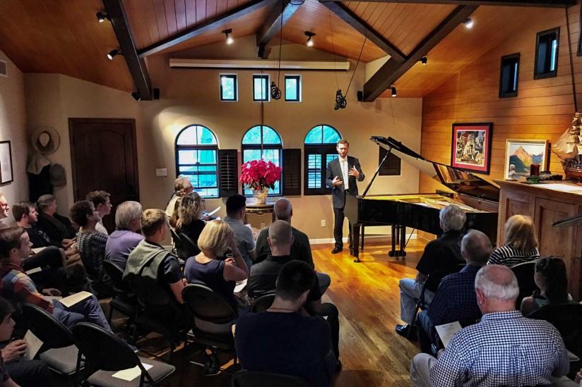 Mason home concert