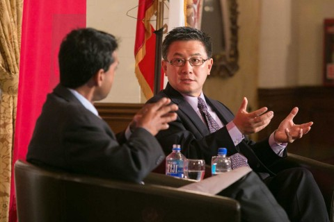 John Chiang and Rodney Ramcharan lead panel