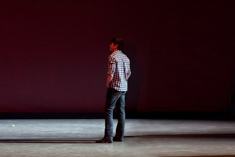 Scenic designer Michael Korsch uses light to sculpt dance