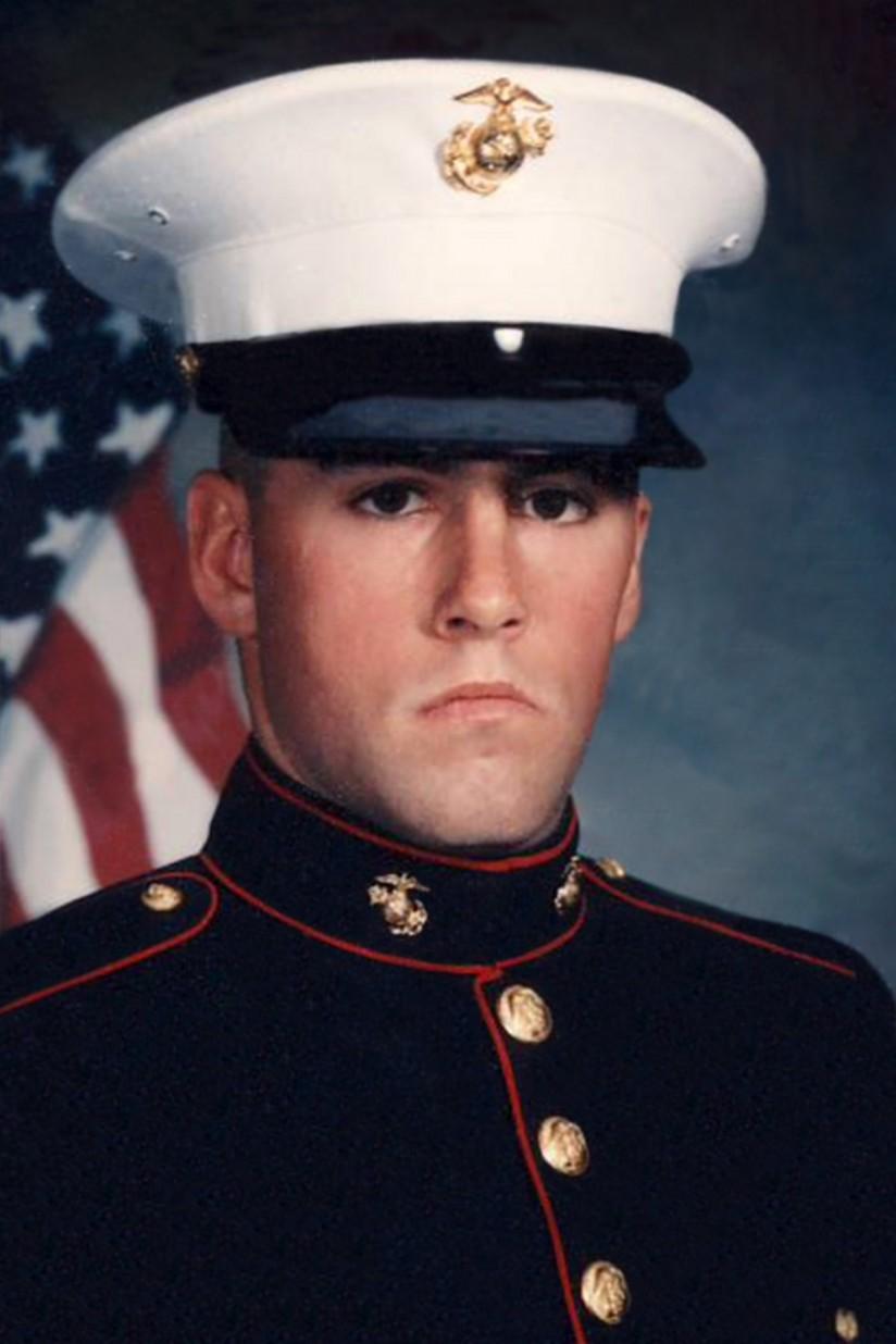 Ken Mulvey, USMC, 1991