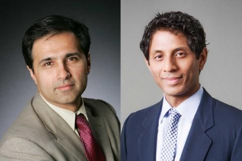 Mark Humayun and Shri Narayanan