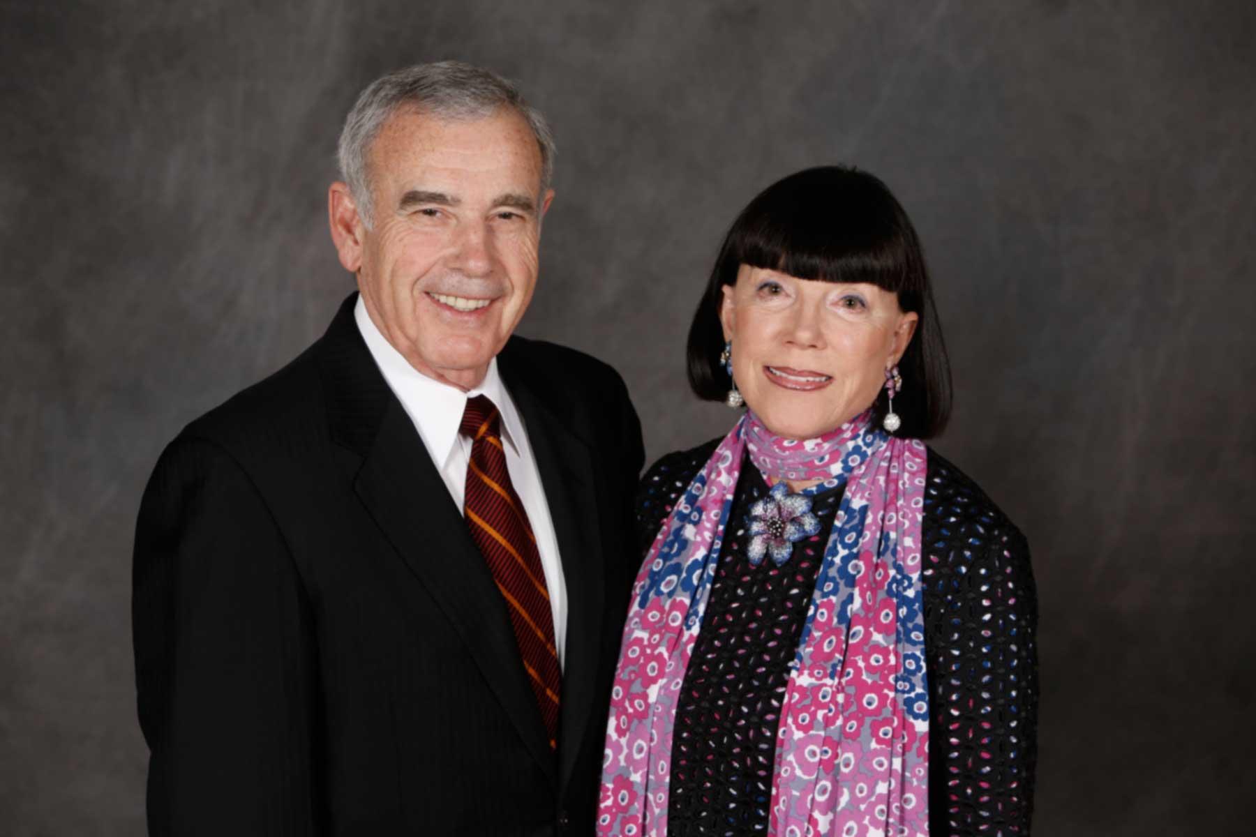 Edward and Gayle Roski