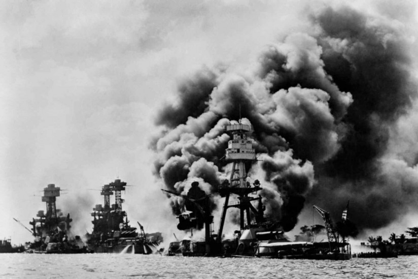 archive photo of pearl harbor