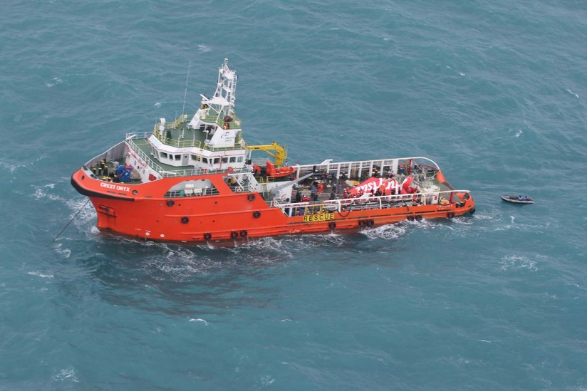 downed Air Asia flight recovery