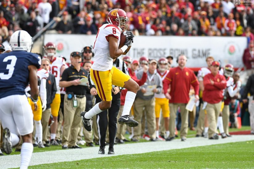 Trojan Iman Marshall intercepts Penn State pass