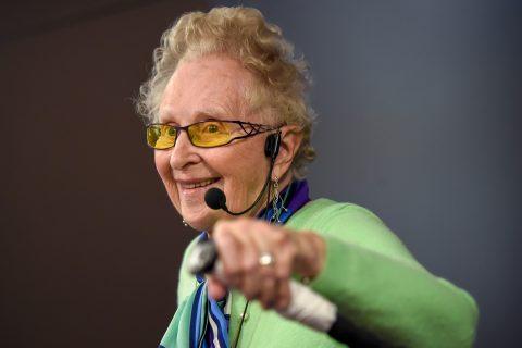 Barbara Beskind in class