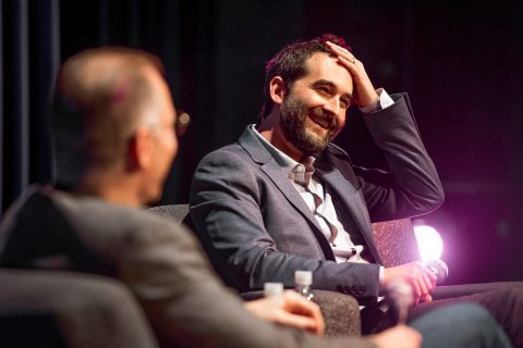 Jay Duplass and David Warshofsky