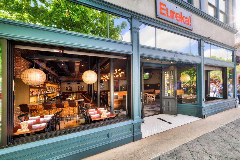 Eureka burger store front