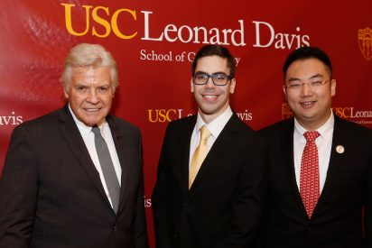 Group photo of George Shannon, David Markovich and Kevin Xu.