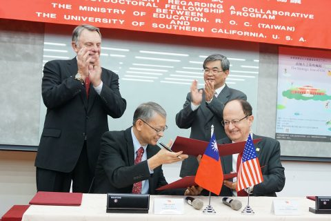 Taiwan MOU signing ceremony
