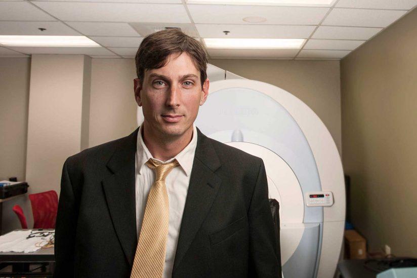 Portrait of assistant professor Jason Kutch