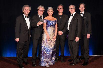 group photo of winner of Scripter award