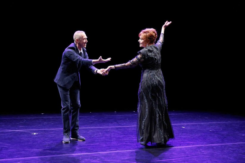 Glorya Kaufman dancing with William Forsythe