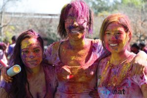 Celebration of Holi at USC