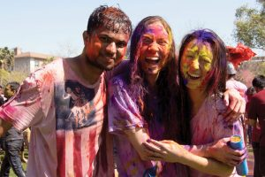 Celebration of Holi