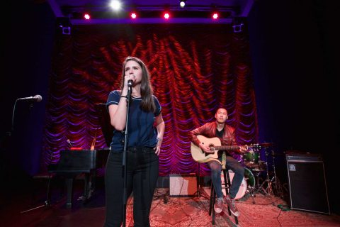 Two alumni performing in new theater
