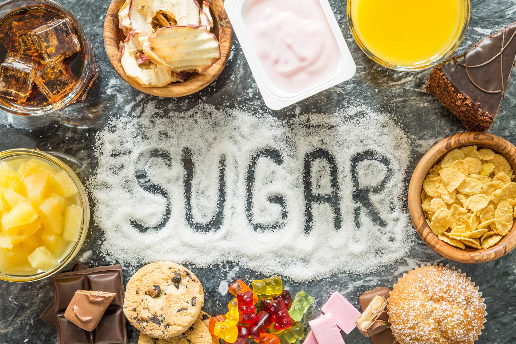 Which Sugar-Based Foods Are Useful and Which Ones Cause Weight Gain