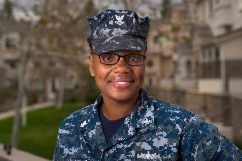 Servicewoman finds satisfaction in counseling and social work ...