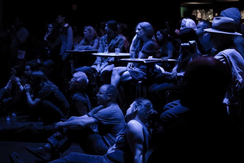 Audience at Lost City concert
