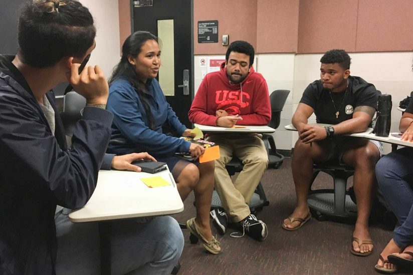 Pacific Islander Student Association meeting