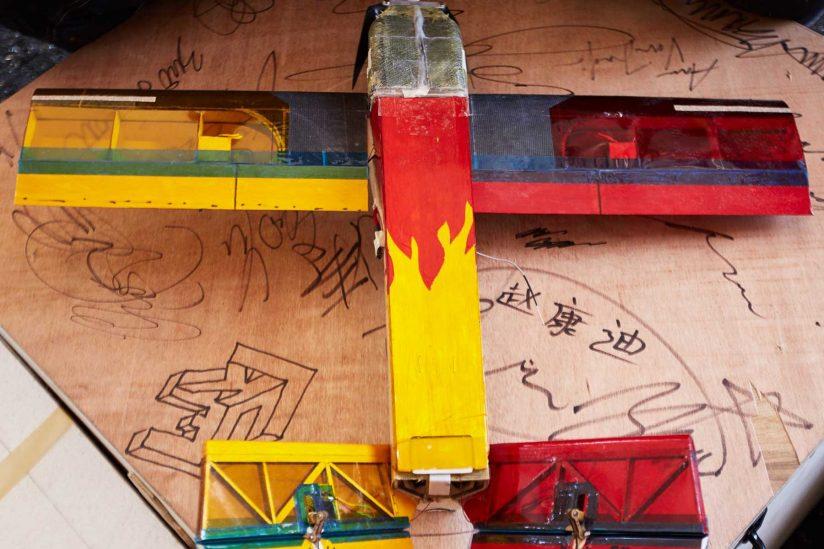 USC Aero design team's plane