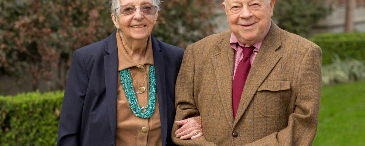 Marilyn Beaudry-Corbett and her husband Don Corbett