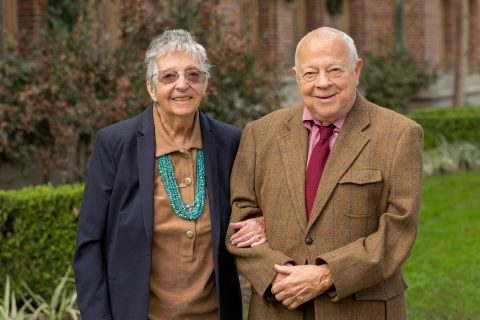 Marilyn Beaudry-Corbett and her husband Don Corbett