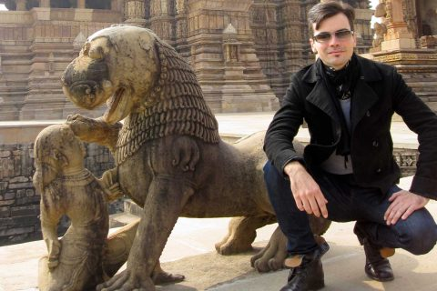 Julian Leuthold in India