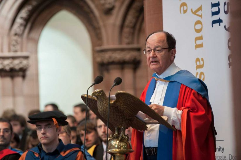 President Nikias at the University of Strathclyde