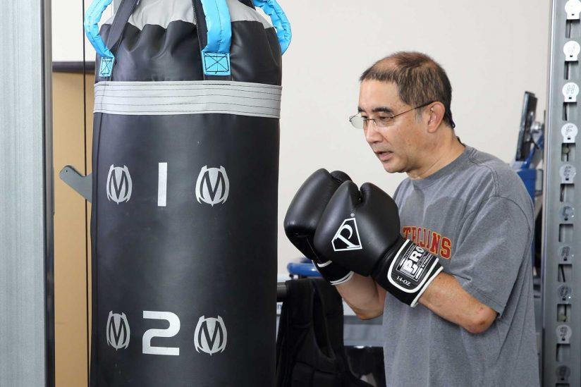 Robert Yoshida boxing
